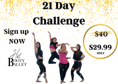 Hot Booty Ballet 21 Day Challenge